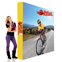 "8 ft. RPL Fabric Pop Up Display - 89""h Straight Graphic Package"