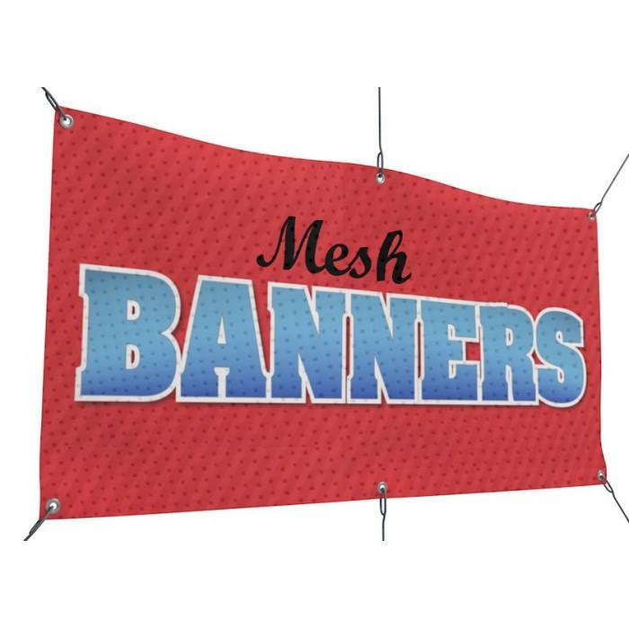 Mesh Banner Printing Houston